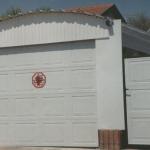 דלת פנלים לבנה
